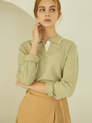 P Soft Knit Top_PM