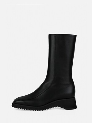 SOFT MIDDLE BOOTS - BLACK