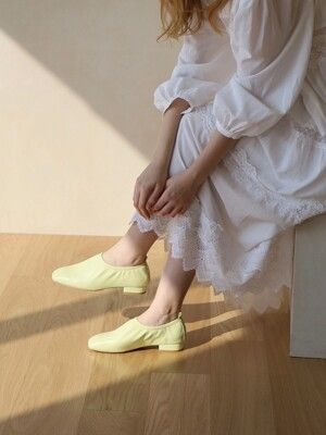 deil flat shoes - lime
