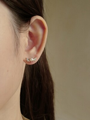 [단독]Mini Lovable Pearl Earring (2COLOR)