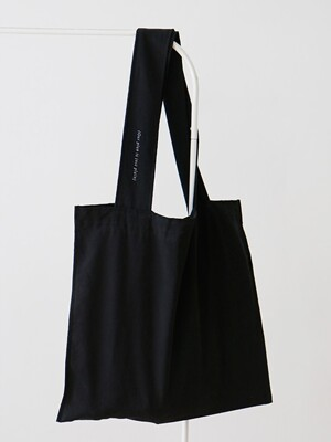 plain bag _ black