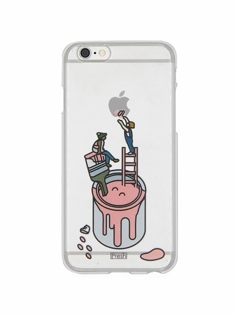 Life in color 투명 폰케이스 for iPhone6(s)/7/7+(PINK)