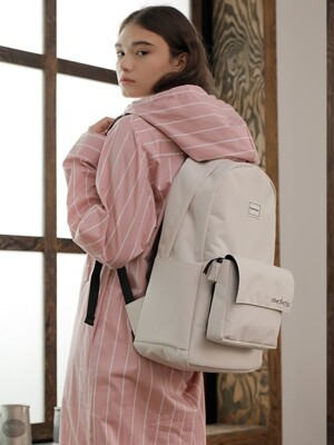 PLUS BACKPACK_IVORY