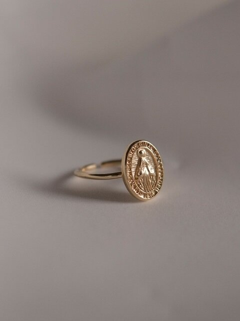 Maria Coin Ring Gold