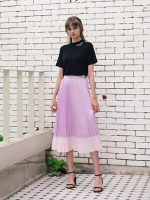 Bourges Pleats Skirt (4color)