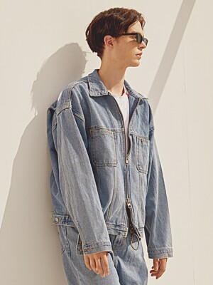 ISAIAH Blue Denim Jacket