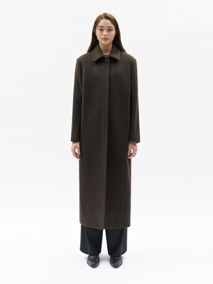 LONG MAC COAT WOMEN [BROWN]