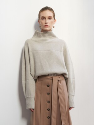 NTW LINE TURTLENECK KNIT 3COLOR