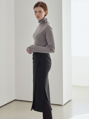 19WN basic turtleneck [GY]