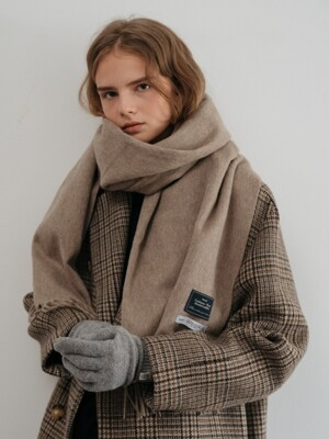 cashmere wool blended muffler (5color)