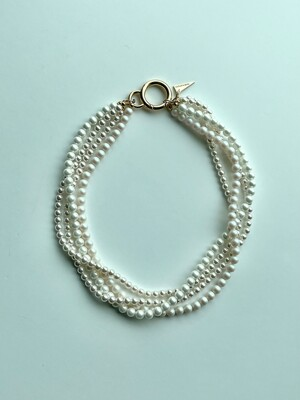 Volume Pearl Necklace