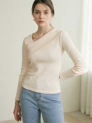 monts 1254 unbalance top (ivory)