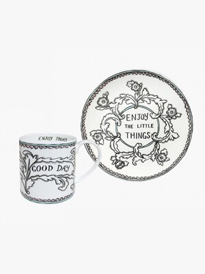 Enjoy the little things 8PLATE & MUG