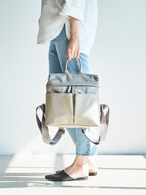 DAY OFF BACKPACK (MinkGrey)