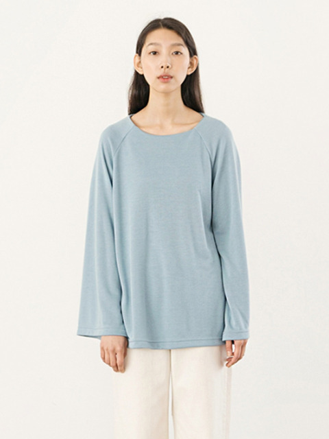 Soft Raglan Top - Blue