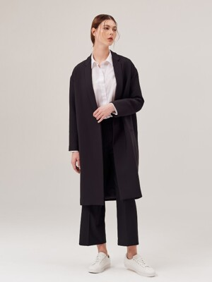 Nobutton long Coat