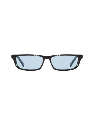BREMEN SUNGLASSES LEOPARD (BLUE)