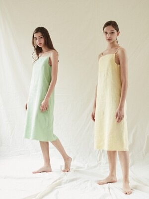 Linen Dress _Yellow