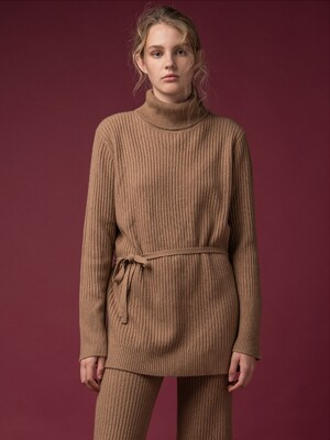 [FW19]Long Turtleneck Loose Fit Tunic (5color)