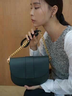 Saddle bag (Deep green)