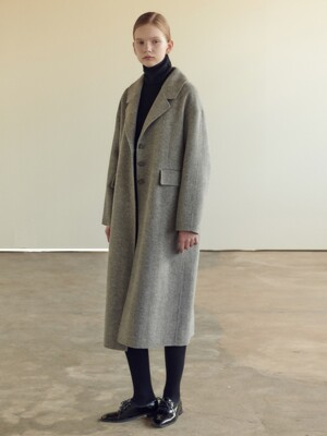 19FN single handmade coat [GY]