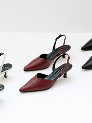 VIL slingback shoes_wine_20520