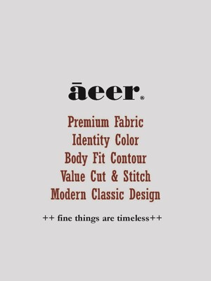 Sleeve Button Slim Cotton Tshirts (Black Stripe)