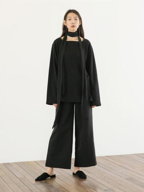 Plain Slacks - Black