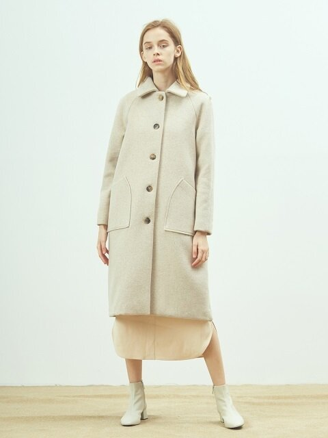 Wool mac coat (Vanilla ice)