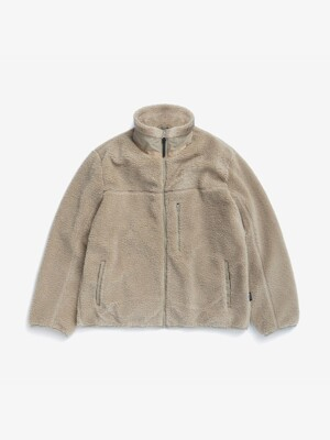 STAN FLEECE ZIP (BEIGE)