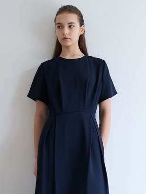 long dress-navy