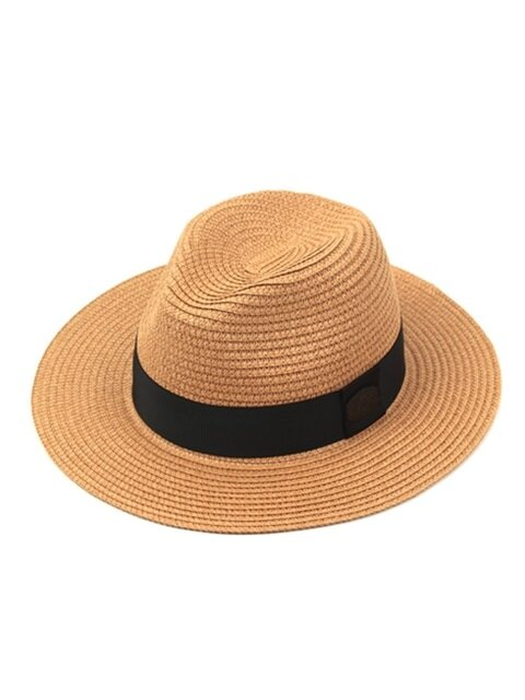 Black-Metal Summer Beige Fedora