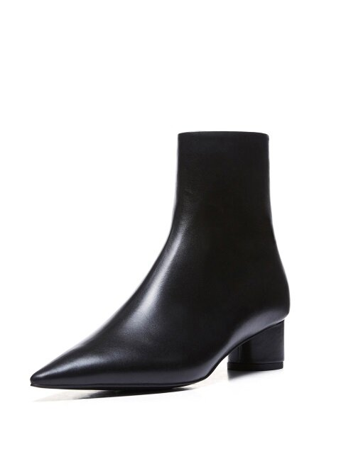 Sharp and Neat Ankle Boots_MM011_BK
