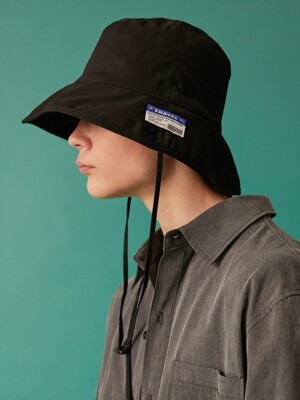 DEPARTURE BUCKET HAT BLACK