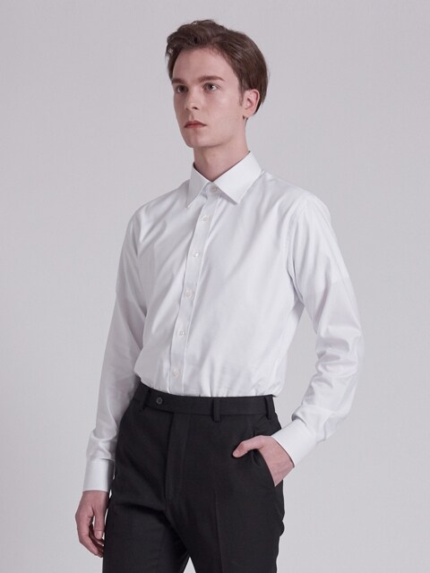 ARAM X WEST VILLAGE TAILORING DRESS SHIRT [WHITE]