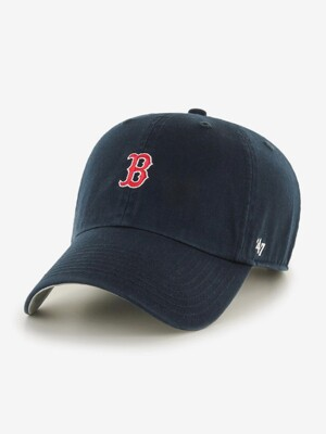 Boston Red Sox Logo Base Runner 47 CLEAN UP Navy
