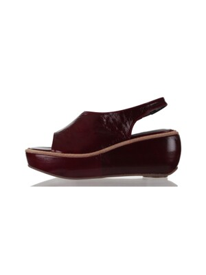MELLY  SANDAL BURGUNDY