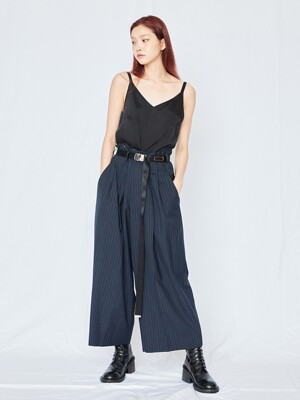Aimons Dark Navy Wide pants