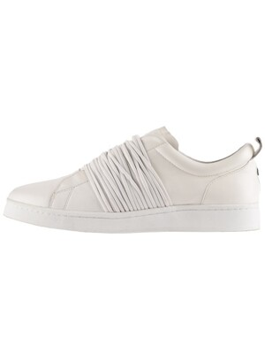 leather rope shoes [ white ]