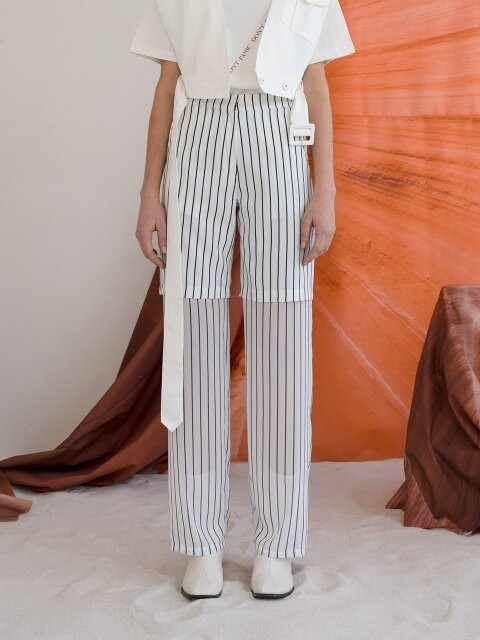 R STRIPE LAYERED PT
