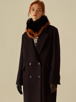 WOOL CASH OVERSIZE TAILOR COAT_BLACK