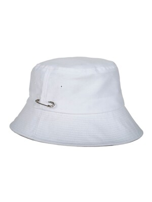 MCBRY BUCKET HAT WHITE