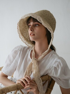 Sedan Raffia Hat (2color)