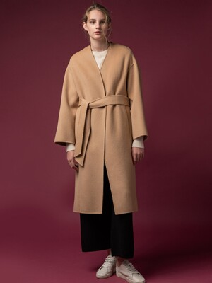 [FW19]Cashmere Robe Coat (4color)