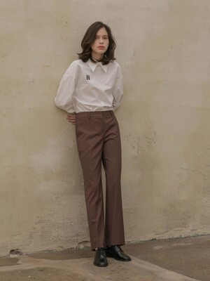 002 Wide wool slacks [BN]