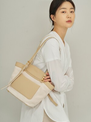 Border bag (Ivory)
