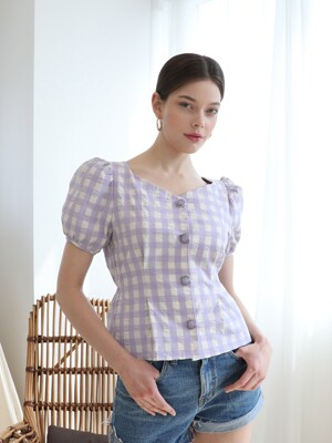 Provence Volume Blouse