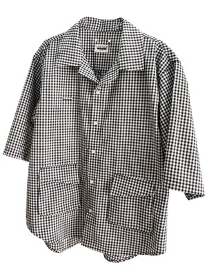 Breezy Shirt_Gingham Check (Medium Sleeve)