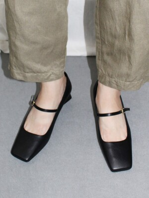 SQUARE STRAP PUMPS 4cm M-IG-200901