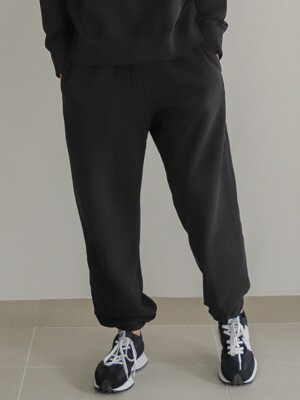 FW20 DAILY SWEAT PANTS_BLACK(W)
